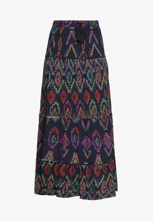FAL NORAH - Maxi sukně - marino