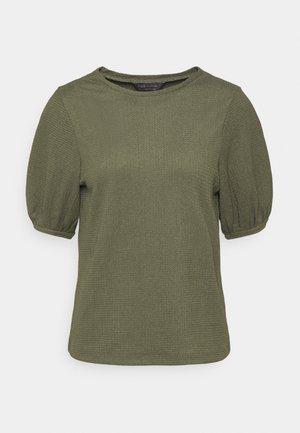 PUFF SLEEVE  - Basic T-shirt - khaki