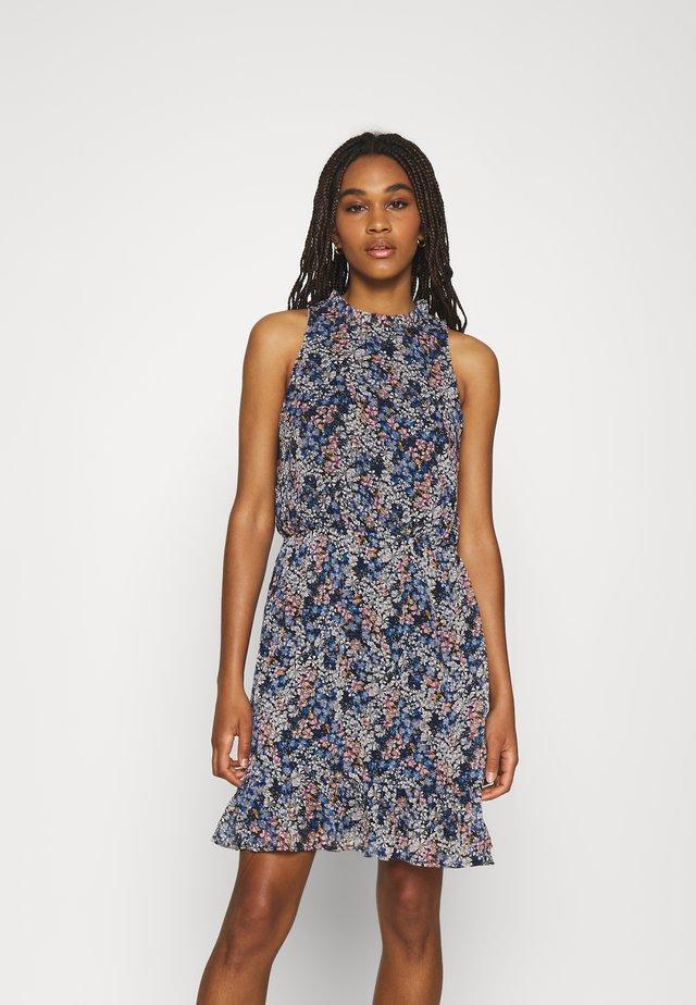 JDYLARISA HALTERNECK DRESS - Sukienka letnia - baby blue