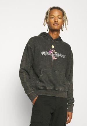 ROSE HOOD - Sweater - washed black