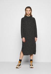 Monki - PIA DRESS - Day dress - black - 0