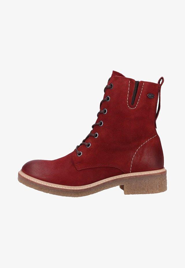 Veterboots - red