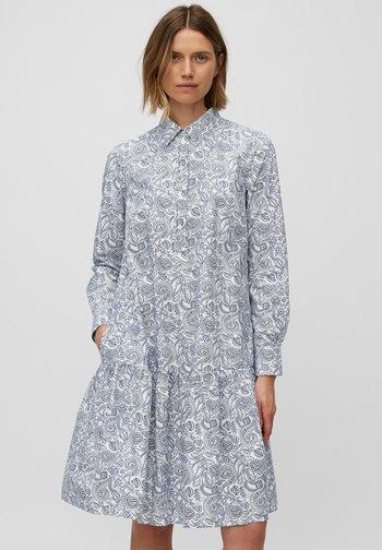 FLARED - Shirt dress - blue
