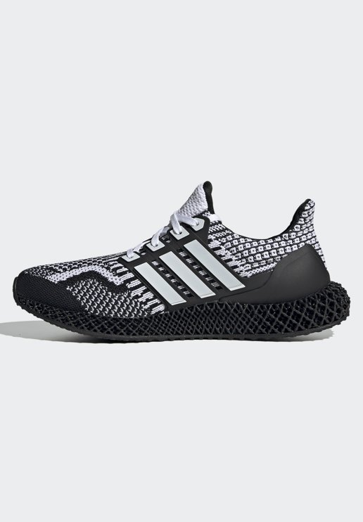 adidas Performance - ULTRA4D 5.0 - Matalavartiset tennarit - cblack/ftwwht/carbon