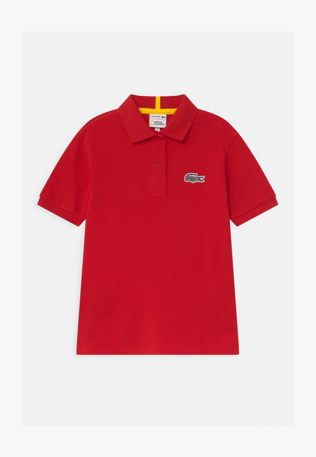 LACOSTE X NATIONAL GEOGRAPHIC - Poloshirt - red
