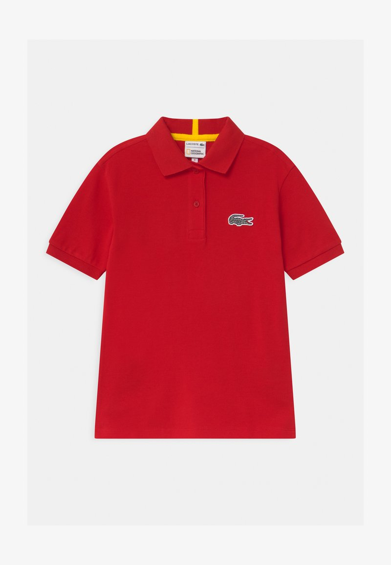 Lacoste - LACOSTE X NATIONAL GEOGRAPHIC - Polo shirt - red