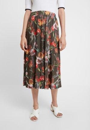 SKIRT - A-line skirt - army