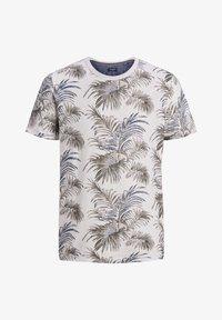 Jack & Jones PREMIUM - T-shirt med print - mystic blue - 6