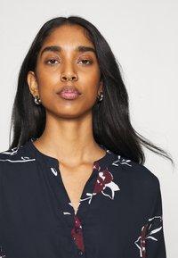 ONLY - ONLCORY V NECK TUNIC - Shirt dress - dark blue - 3