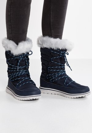 WOWI HUN - Winter boots - dark navy/vapor grey