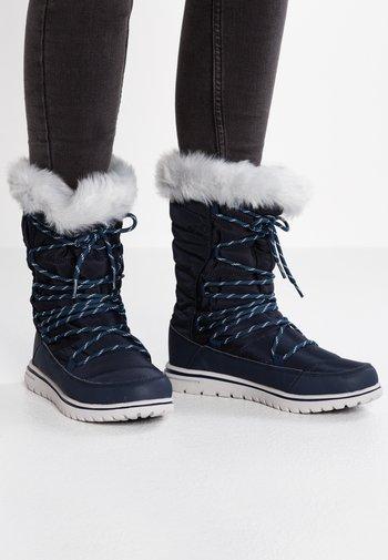 WOWI HUN - Winter boots - dark navy/vapor grey
