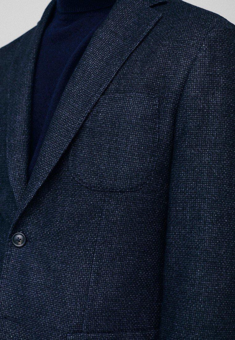 Homme SLIM-FIT- AUS WOLLE MIT STRUKTURMUSTER 02010404 - Veste de costume