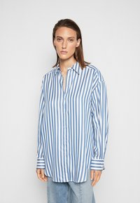 House of Dagmar - GINA - Button-down blouse - blue - 0
