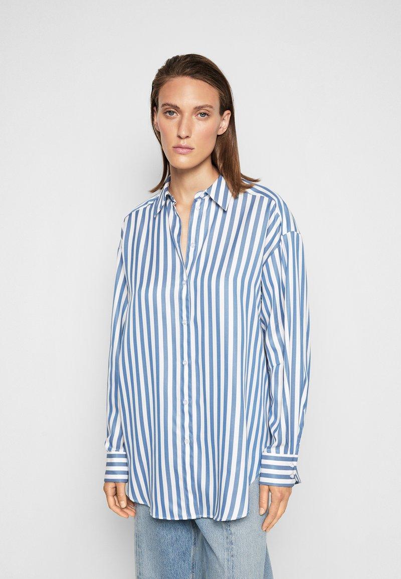 House of Dagmar - GINA - Button-down blouse - blue
