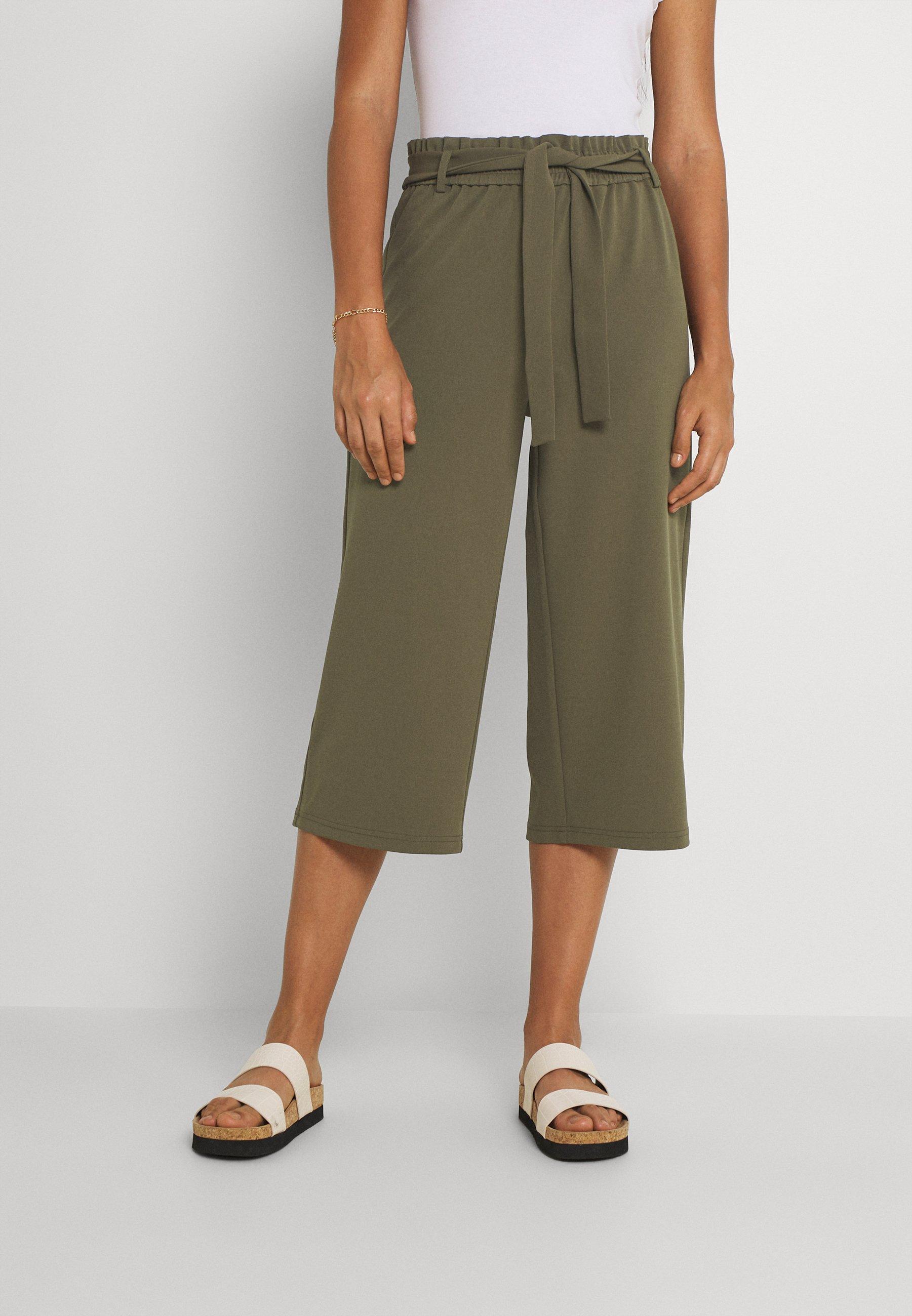 Women ONLHARRIS CAROLINA CULOTTE BELT - Trousers