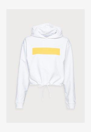 HERO LOGO HOODIE - Sweatshirt - white
