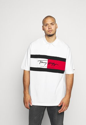 AUTOGRAPH FLAG - Polo shirt - white
