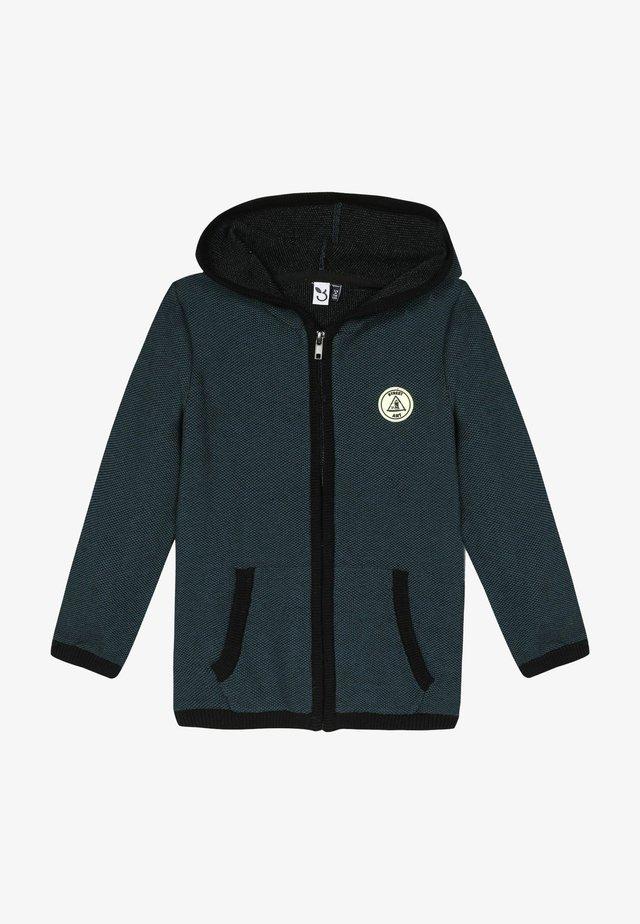 Zip-up hoodie - emeraude