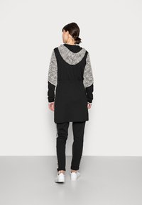 Liu Jo Jeans - MAXI FELPA APERTA - Short coat - nero - 2