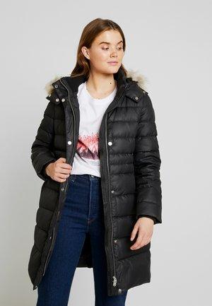 ESSENTIAL - Down coat - black