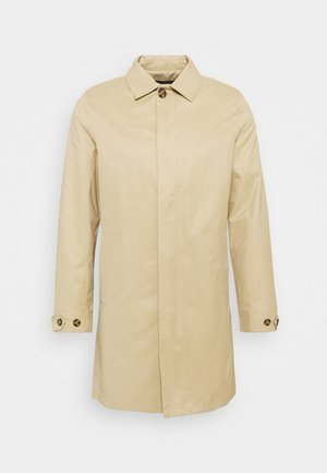 Classic coat - smoked beige