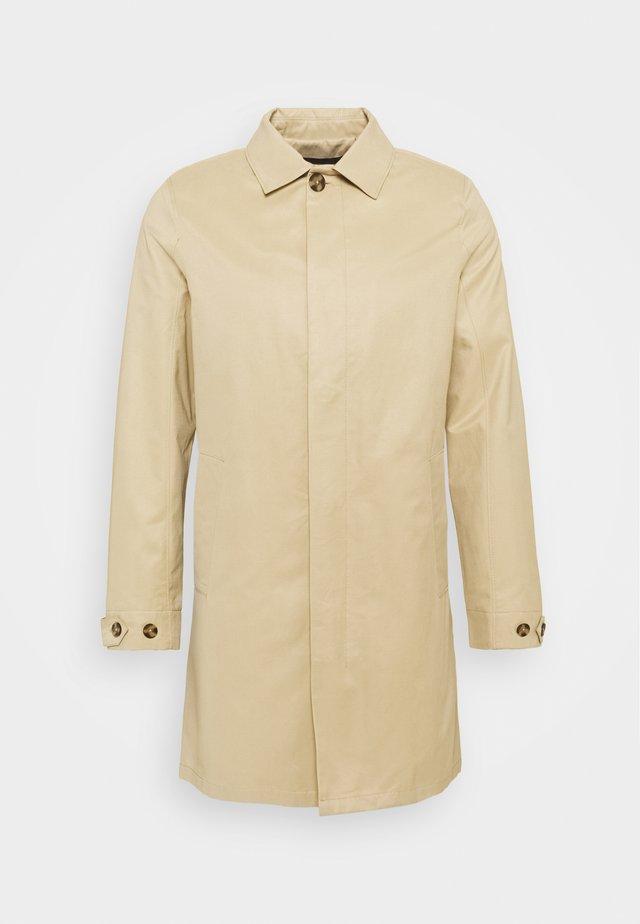 Klasický kabát - smoked beige