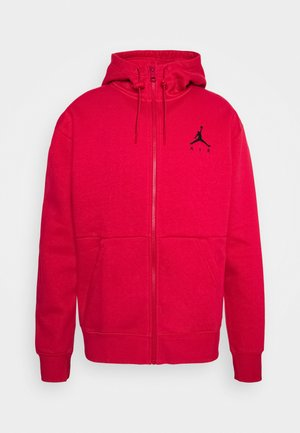 JUMPMAN AIR - Zip-up hoodie - gym red/black