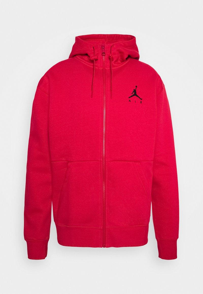 Jordan - JUMPMAN AIR - Mikina na zip - gym red/black