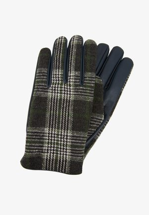 Gloves -  dark blue/ green