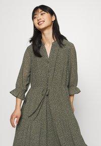 Selected Femme Petite - SLFGAIA-DAMINA ANKLE DRESS  - Maxi dress - carafe - 3