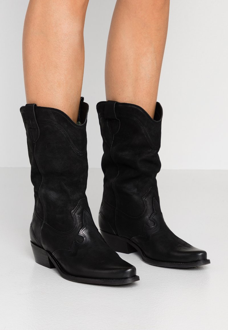 Felmini - GERBERA - Botas camperas - morgan black