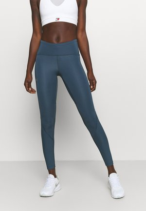 FLY FAST - Tights - mechanic blue