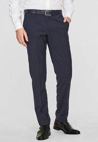 s.Oliver BLACK LABEL - CESANO - Suit trousers - blue - 0