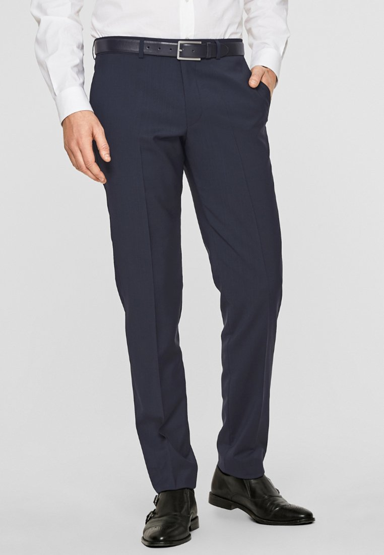 s.Oliver BLACK LABEL - CESANO - Suit trousers - blue