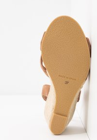 Office Wide Fit - MILLS - Espadrilles - taupe - 6