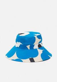 Marimekko - SIIMEKSESSÄ UNIKKO HAT - Hat - beige/blue/black - 1