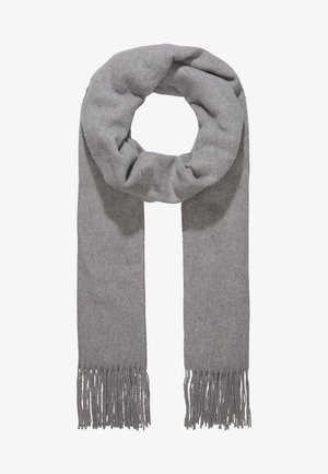 Sjal - medium grey melange