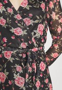 Vila - VIKAMAS DRESS - Denní šaty - black - 6