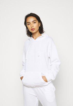 HOODIE AND JOGGER SET - Sweatshirt - white
