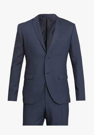 FASHION STRUCTURE SUIT SLIM FIT - Oblek - blue