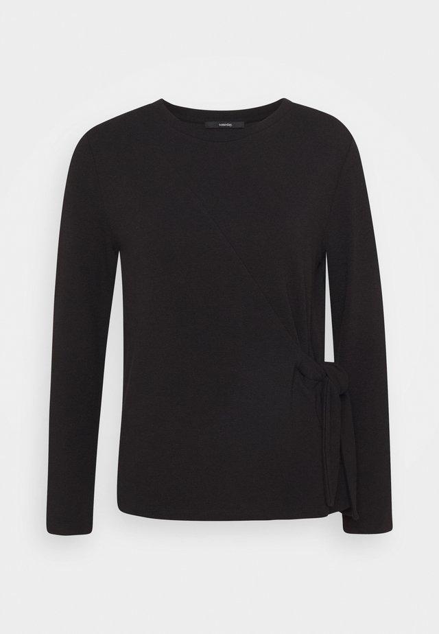 KILONA - Top sdlouhým rukávem - black