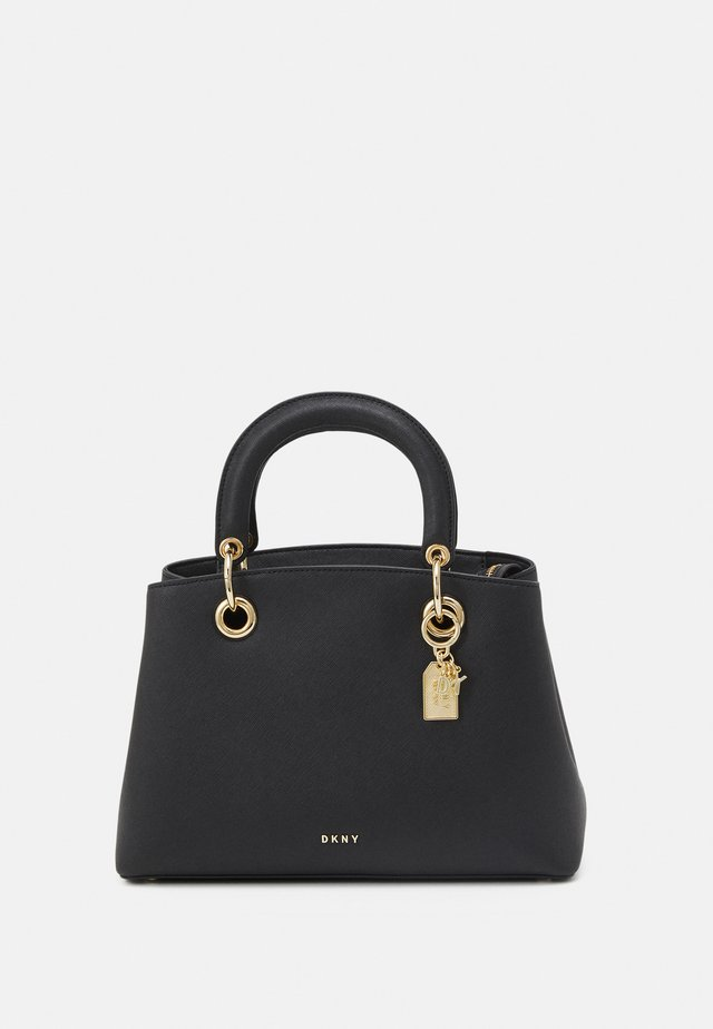 TONNY SATCHEL - Handväska - black/gold-coloured