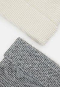 Pier One - 2 PACK - Bonnet - light grey/white - 2