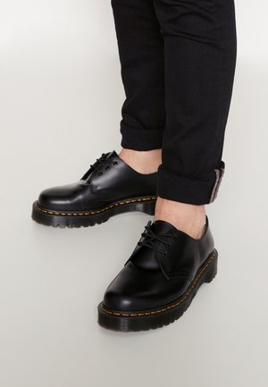1461 BEX UNISEX - Nauhakengät - black smooth