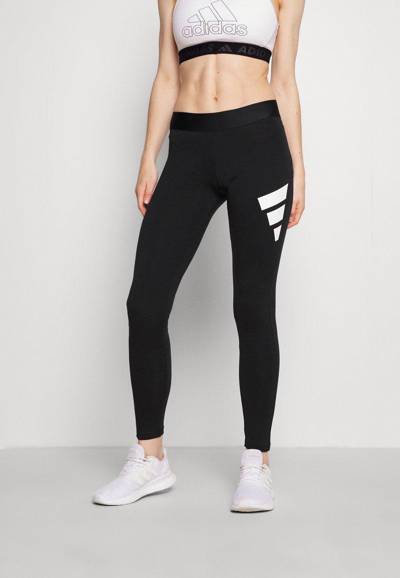 adidas Performance - LEGGING - Collants - black