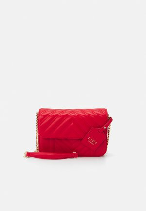 HANDBAG - Across body bag - red