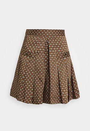 MARRON - Shorts - marron/noir