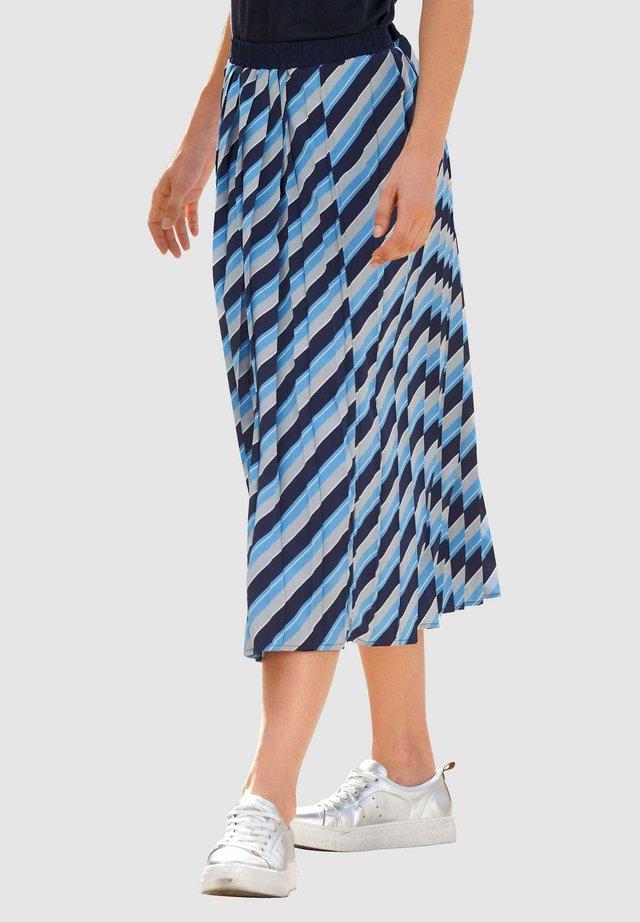 A-line skirt - marineblau