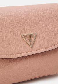 Guess - HANDBAG DESTINY SHOULDER BAG - Handbag - blush - 4