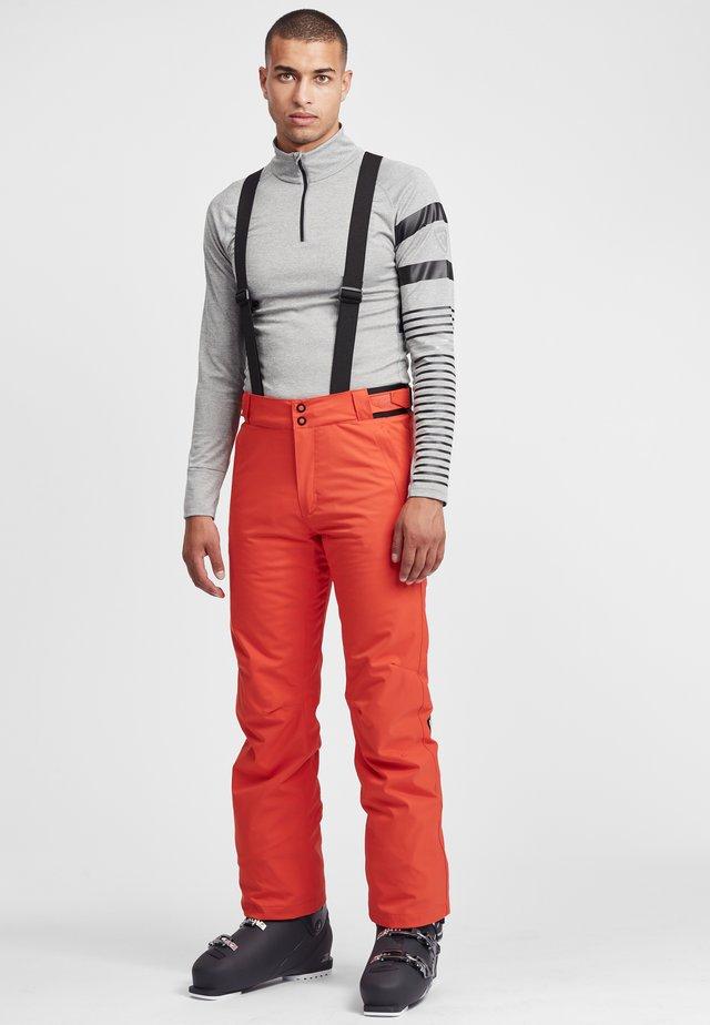 Pantaloni da neve - lava orange